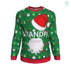 familyloves.com Grandpa ugly christmas sweater %tag