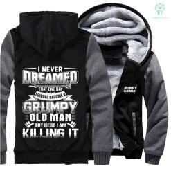 Grumpy old man jacket hoodie hot %tag familyloves.com