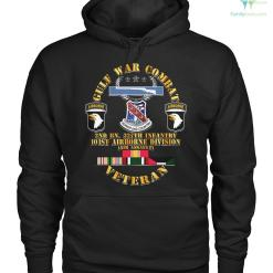 GULF WAR COMBAT 2nd BN, 327th infantry 101st airborne division Hoodie/Tshirt %tag familyloves.com