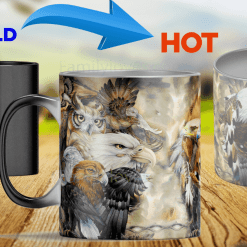 Heat color changing mugs eagle mugs %tag familyloves.com