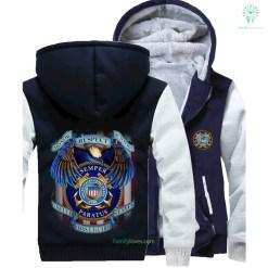 familyloves.com honor respect devotion semper paratus united states coast guard hoodie %tag