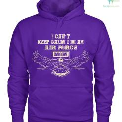 I can't keep calm I'm an air force mom women t-shirt, hoodie %tag familyloves.com