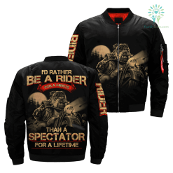 i'd rather be a rider for a minute than a spectator for a lifetime OVER PRINT JACKET payment shipping %tag familyloves.com
