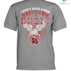 I don't have a phd i have a dd214? polo shirt %tag familyloves.com
