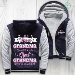 I'm a mom grandma and a great grandma woman hoodie %tag familyloves.com