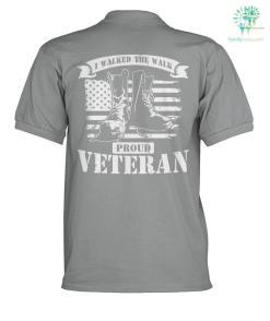 I walked the walk proud veteran? polo shirt %tag familyloves.com