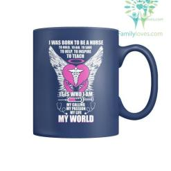 familyloves.com I Was Born To Be a Nurse Mugs %tag