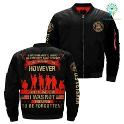 i am a grumpy veteran god bless american i sulute our flag thank our troops over print Bomber jacket %tag familyloves.com