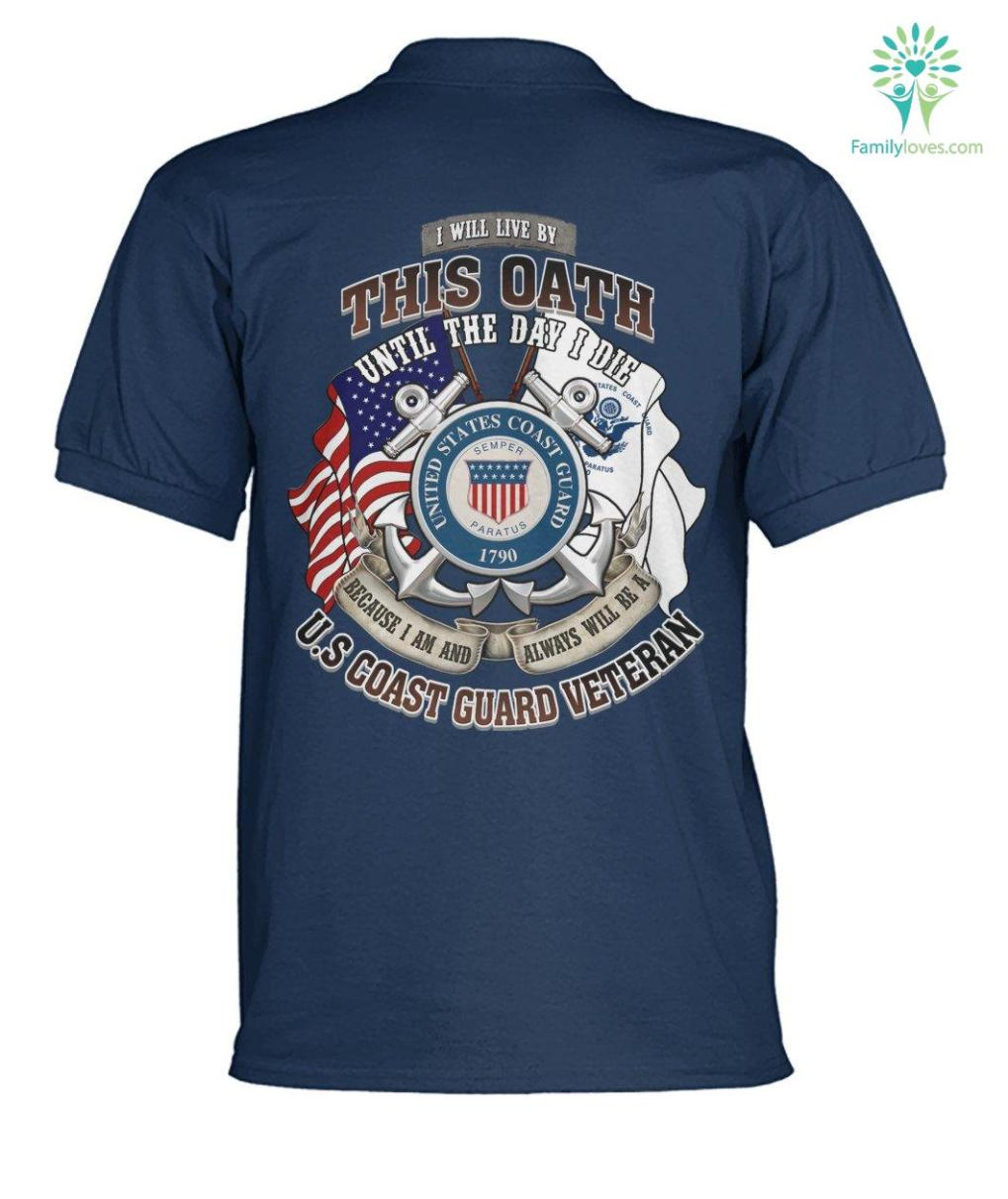 i-will-live_4eb67ff4-dfc1-333e-aa86-dca05701eeee I will live by this oath until the day I die... U.S Coast Guard veteran? men's polo shirt  %tag