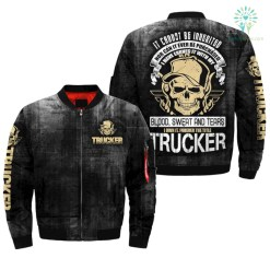 familyloves.com IT CANNOT BE INVERTED NOR CAN IT EVER BE PURCHASED I HAVE EARNED IT WITH MY BLOOD, SWEAT, AND TEARS, I OWN IT, FOREVER THE TITLE TRUCKER OVER PRINT JACKET %tag