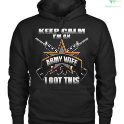 familyloves.com keep calm i'm an army wife i got this Hoodies/Tshirt %tag