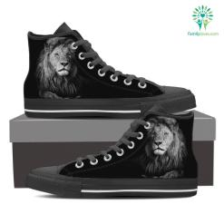 Leo High Shoes Black %tag familyloves.com