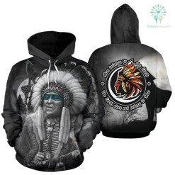 familyloves.com Man Belongs to the Earth - The earth does not belong to Man All Over Hoodie %tag