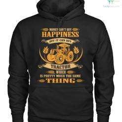 familyloves.com money can't buy happiness but it can buy tractor which is pretty much the same thing Hoodie/Tshirt %tag