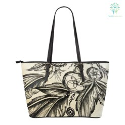 familyloves.com Native American Dreamcatcher Small Leather Bags %tag