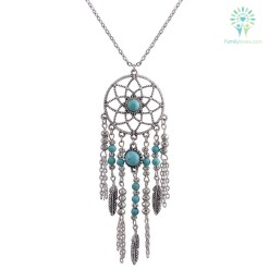 familyloves.com Native American Fringe Necklaces %tag