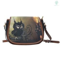 familyloves.com NATIVE AMERICAN OWL SADDLE BAGS %tag