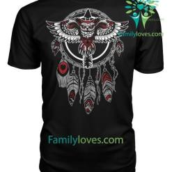 Native American owl Shirts %tag familyloves.com