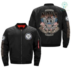 NAVY - proud to have served - Since 1775 OVER PRINT JACKET %tag familyloves.com