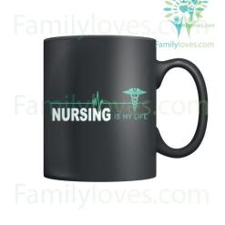 familyloves.com Nursing Is My Life Mugs %tag