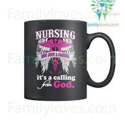familyloves.com Nursing Not Just A Career Mugs %tag