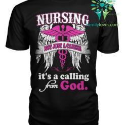 Nursing Not Just A Career Tshirt %tag familyloves.com