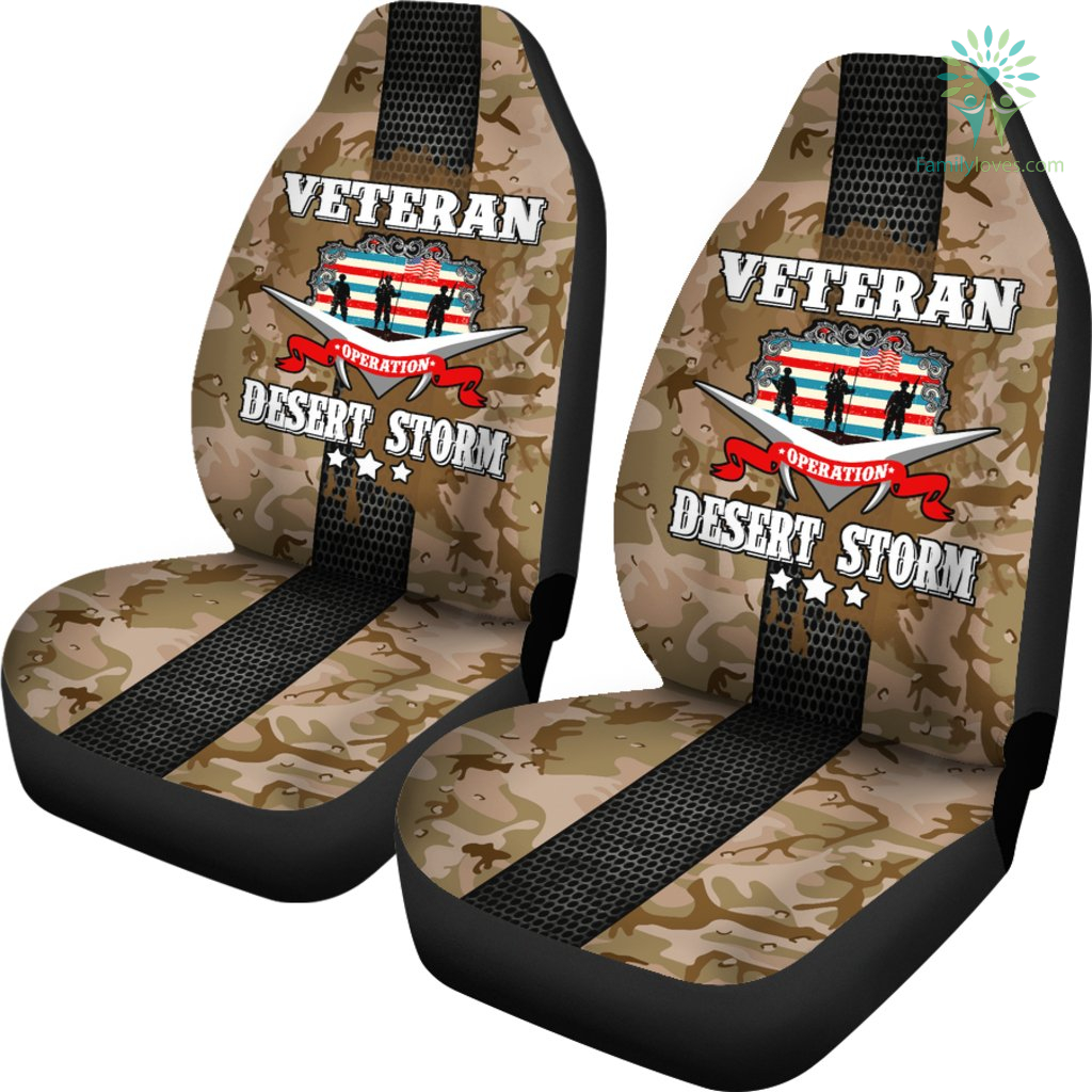 Operation Desert Storm Veteran car seat cover %tag familyloves.com