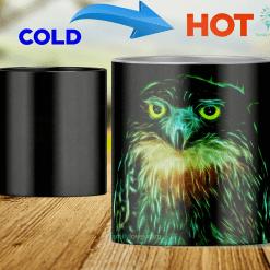 Owl heat changing color mugs magic mugs owl native american %tag familyloves.com