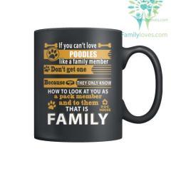 POODLES DOG - MUGS %tag familyloves.com