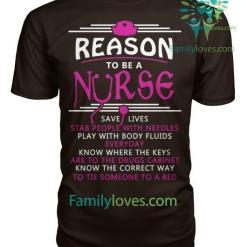 Reason To Be A Nurse Tshirt %tag familyloves.com