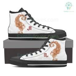 Scorpio High Shoes White For Men %tag familyloves.com