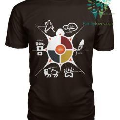 Seven Sacred Grandfather Teaching Tshirt %tag familyloves.com