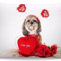 Shih tzu Pillow - One Sided %tag familyloves.com