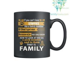 STAFFIES DOG - MUGS %tag familyloves.com