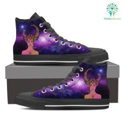 Taurus High Shoes Purple %tag familyloves.com