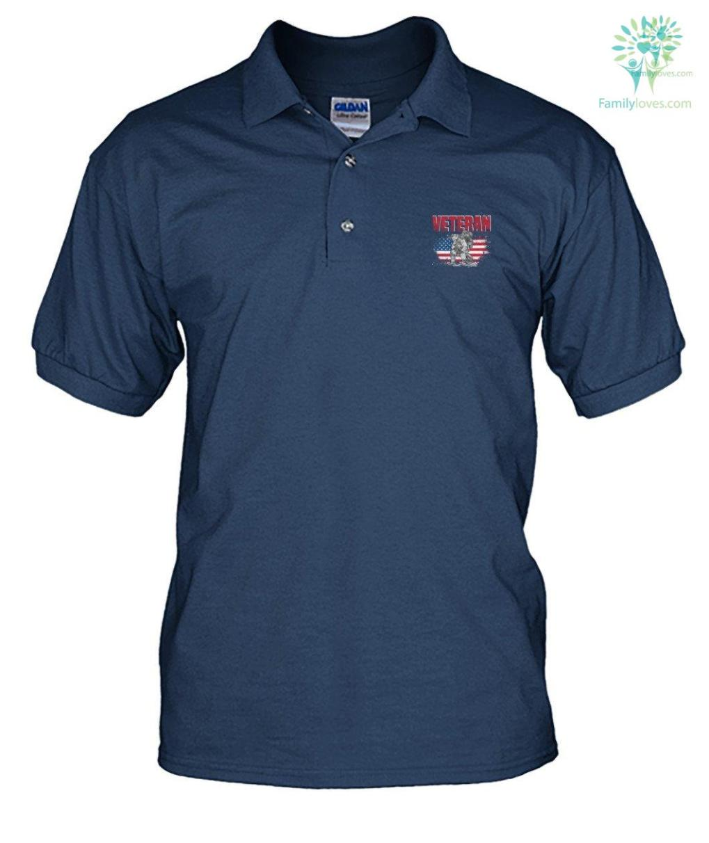 familyloves.com The only thing i love more than being a veteran is being a grandpa? men's polo shirt %tag