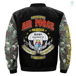 These things we do, that others may live U.S Air Force Pararescue print jacket %tag familyloves.com
