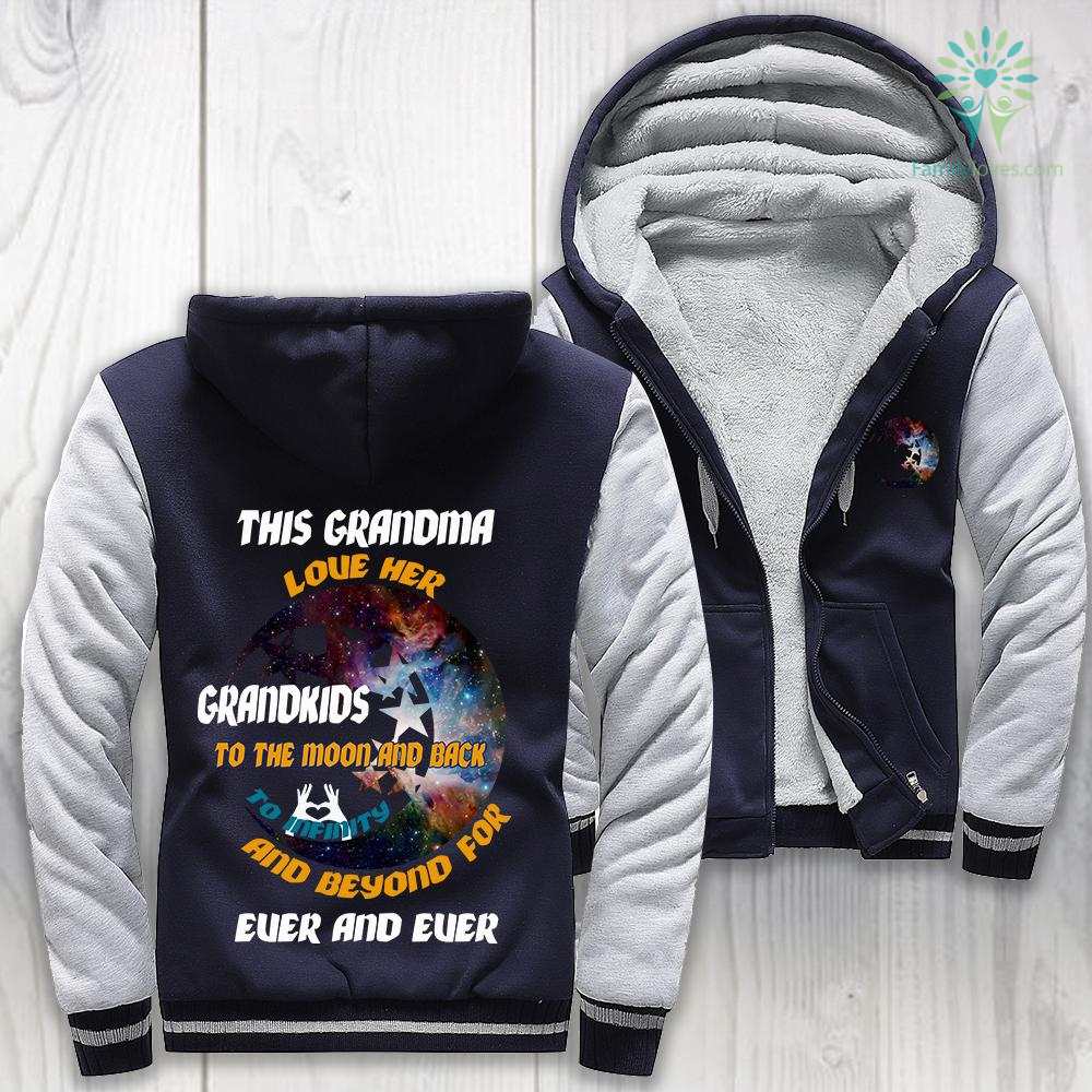 This grandma loves her grandkids to the moon... woman hoodie %tag familyloves.com
