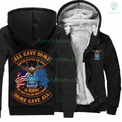 U.S.AIR FORCE, ALL GAVE SOME, SOME GAVE ALL, IN MEMORY OF OUR FALLEN BROTHERS HOODIE %tag familyloves.com