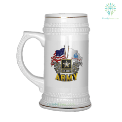 U.S.ARMY, SINCE 1775, THIS WE'LL DEFEND BEER STEIN %tag familyloves.com