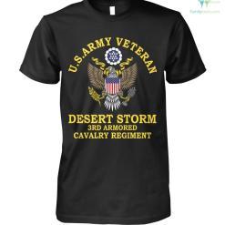 familyloves.com U.s.army veteran desert storm 3rd armored cavalry regiment? t-shirt %tag