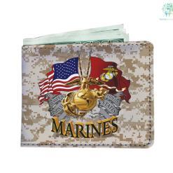 U.S Marines Men's Wallet Default Title %tag familyloves.com