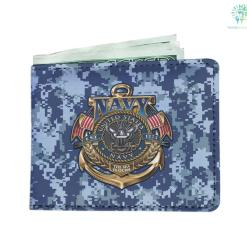 U.S Navy the sea is ours Men's Wallet %tag familyloves.com