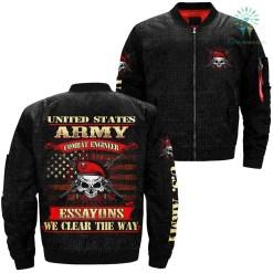 Essayons United States army combat engineer jacket %tag familyloves.com