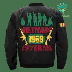 familyloves.com Vietnam veteran 1969 - Vietnam Veterans of America Over Print Jacket %tag