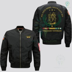 VIETNAM VETERAN OF AMERICA ALL GAVE SOME, 58479 GAVE ALL JACKET EMBROIDERED VERSION %tag familyloves.com