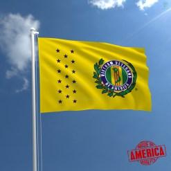 VIETNAM VETERANS OF AMERICA - WALL FLAG %tag familyloves.com