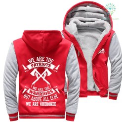 familyloves.com We are the patriots we are the warriors but above all else we are Cherokee woman hoodie %tag