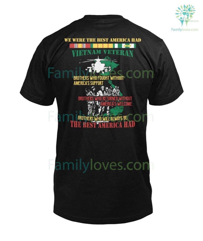 familyloves.com WE WERE THE BEST AMERICA HAD- Vietnam Veterans of America Mens V-Neck %tag