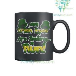 familyloves.com WHEN IRISH EYES ARE SMILING...RUN - MUGS St. Patricks shirt, St. Patrick's Day shirt, St. Patricks day, St Pattys day %tag